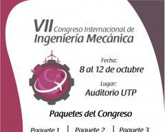VII Congreso Internacional de Ingeniería Mecánica